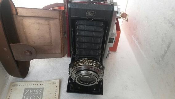 Máquina Fotográfica Antiga Zeiss Ikon Nettar