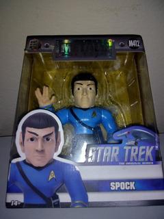 Star Trek Jada Metal Fig Spock Zona Retro Juguetería Vintage