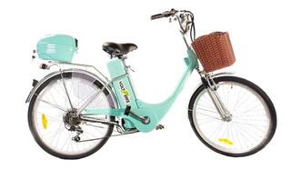 Bicicletas Eléctricas Voltbike Rodado 24 O 26 Batería De Gel