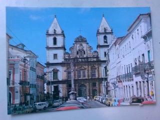 Cartão Postal Salvador - Igreja De São Francisco - Ba