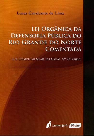Lei Orgânica Da Defensoria Pública Do Rio Grande Do Norte