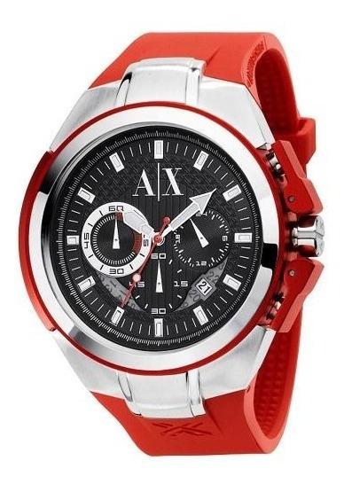 Relógio Armani Exchange Masculino Uax1040z Original Barato