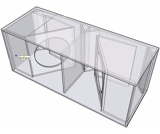 Projeto Original Caixa T18 Dual Ez Sub Graves