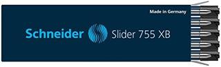 Recambio De Pluma Schneider Slider 755 Xb Black Box De 10 17