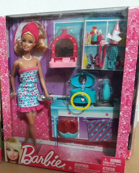Barbie Spa Day,boneca Com Playset E Acessórios, 2012,lacrada
