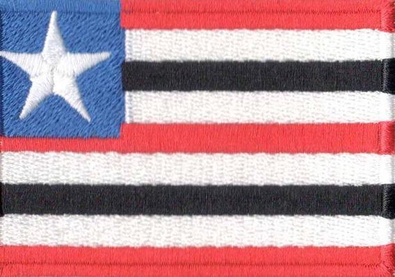 Bordado Patch - Bandeira Do Maranhão - Bd50128