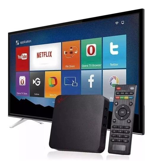 Aparelho Adaptador Smart Tv. Tv Box Android Netflix, Youtube