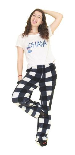 Imagen 1 de 10 de Pantalón Pijama Corderito De Mujer Super Suave