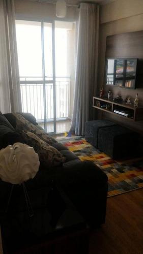 Apartamento Com 2 Dormitórios À Venda, 43 M² - Ponte Grande - Guarulhos/sp - Ap0122