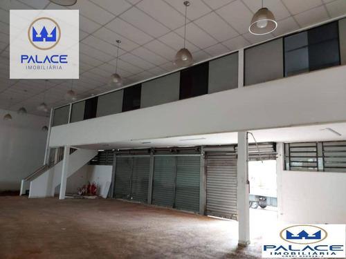 Salão Para Alugar, 580 M² Por R$ 17.000,00/mês - Paulista - Piracicaba/sp - Sl0151