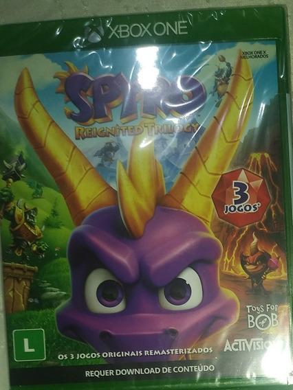Spyro Trilogia Xbox One Midia Física Lacrado