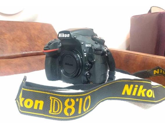 Nikon D810 Semi Nova 103.000 Clicks