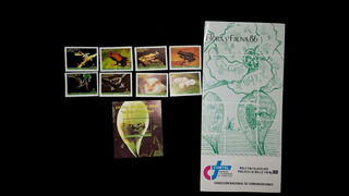 Estampillas Flora Y Fauna Costa Rica 86