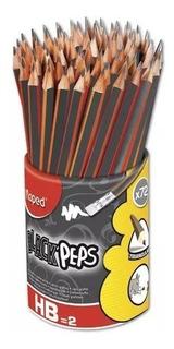 Lapices Con Goma Maped Numero 2, Hb Black Peps )