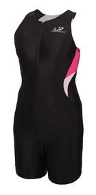 Macaquinho Triathlon Hh Feminino M Wtzl1 Preto Rosa