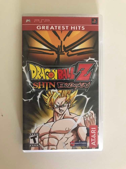Jogo Para Psp-dragon Ball Z Shin Budokai 100% Original