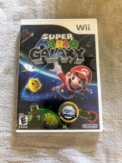 Super Mario Galaxy Lacrado De Fábrica