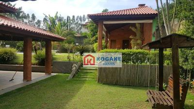 Casa Residencial À Venda, Condomínio Hari Country Club, Santa Isabel - Ca2510. - Ca2510