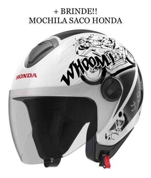 Capacete Honda Hnj Aberto Mangá - Ed. Limitada Japão