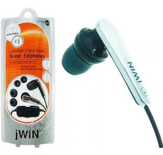Auriculares Jwin Jh-e20s Super Livianos Stereo