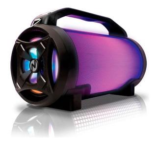 Parlante Bluetooth Bomb Luces Led Potenciado Usb Radio