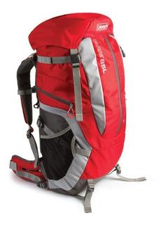 Mochila Cargueira Coleman Elate Trekking Camping 65 Litros