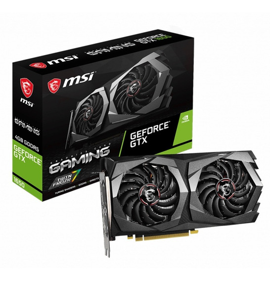 Placa De Video Geforce Msi Gtx 1650 4gb Gaming Xellers 1