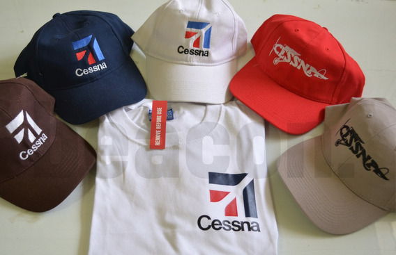 Pack Remera Y Gorra Cessna