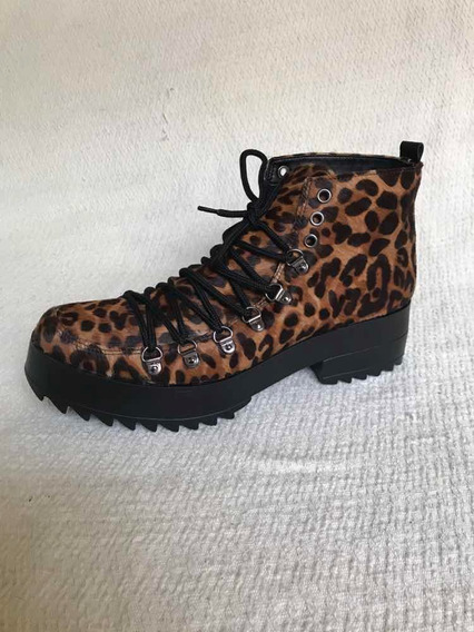 Borcegos Animal Print Hush Puppies
