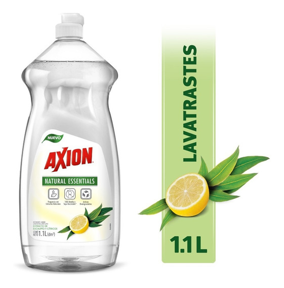 Axion Lavatrastes Líquido Natural Essentials, 1.1l