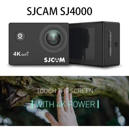 Camera De Ação Sjcam Sj4000 Air Grava Em 4k Pronta Entrega!