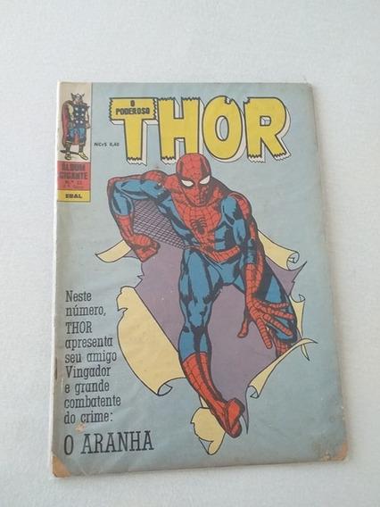 Album Gigante Nº11 Thor (1º Apariçõ Homem Aranha)
