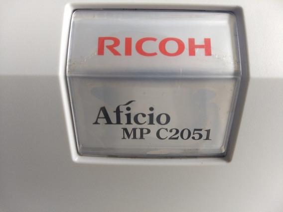 Multifuncional Colorida Ricoh Aficio Mpc2051 A3/ A4 Revisada