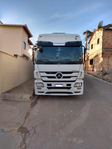 Caminhão Actros 2546 6x2 Aut + Carreta Random 13/14 25m3