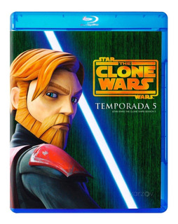 The Clone Wars La Guerra Quinta Temporada 5 Cinco Blu-ray