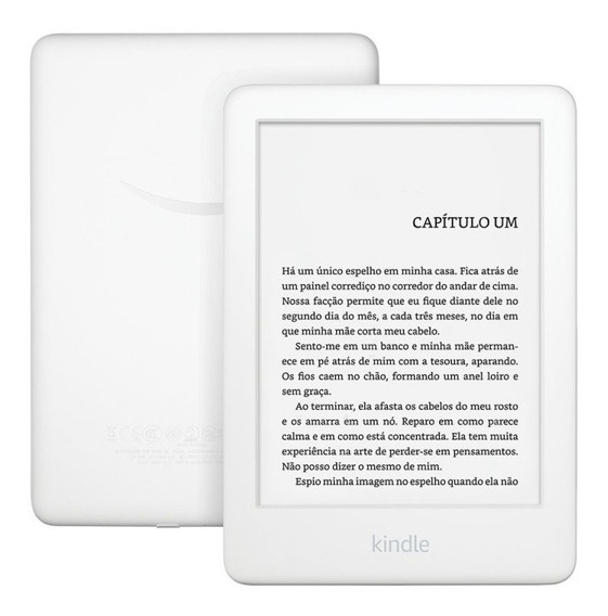E-reader Amazon Kindle 10º Branco Tela De 6 Wi-fi 4gb