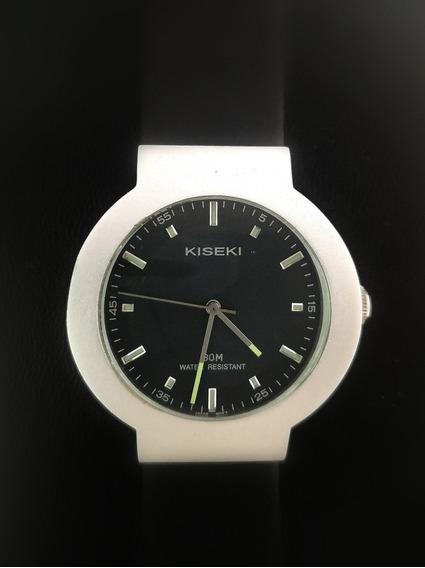 Reloj Kiseki Quarz By Citizen Aluminio P/caballero C/caucho