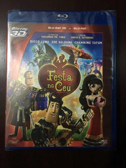 Blu Ray 2d + 3d Festa No Céu Original Lacrado