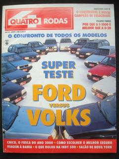 4 Rodas No. 383 Junho De 1992