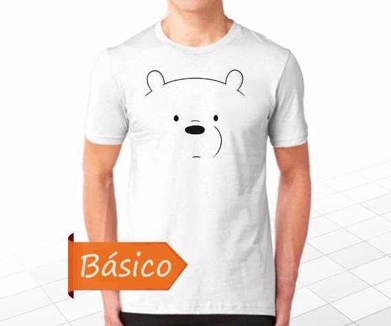 Escandalosos We Bare Bears Osos Polar Playera Personalizada