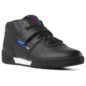 Tênis Reebok Workout Clean Mid Strap Original - Footlet