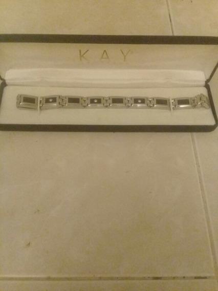 Esclava Acero Inoxidable De Hombre Marca Kay Jewelers