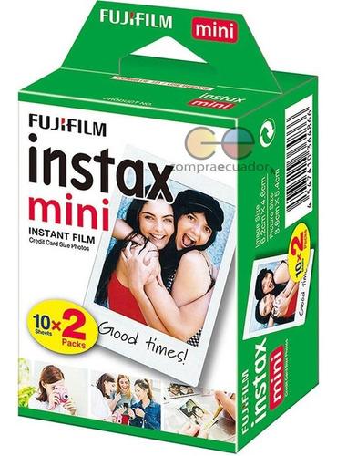 Fujifilm Película Para Cámaras Instax 8, 9, 11 Cantidad 20