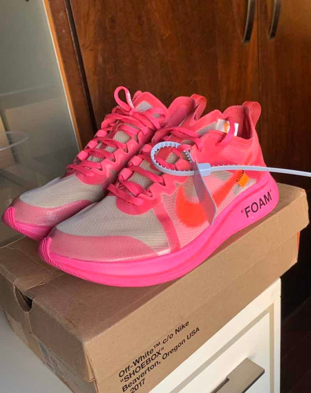 Nike Zoom Fly Off White Tulip Pink