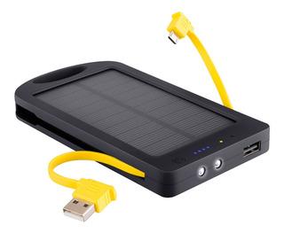 Power Bank De 4200ma Con Cargador Solar | Mov-104/ot