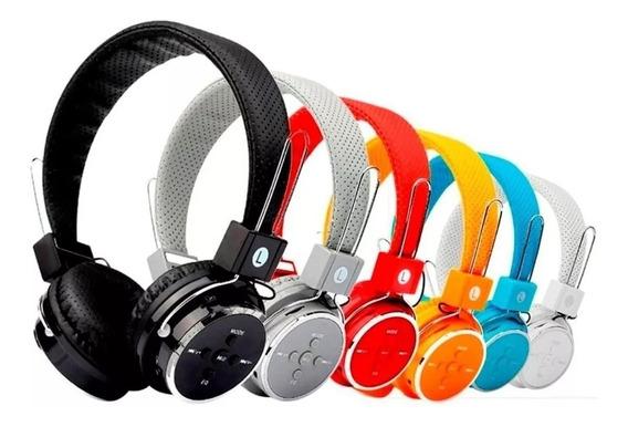 Fone Bluetooth De Ouvido Headset B05 B-05 Sem Fio Sd Fm P2