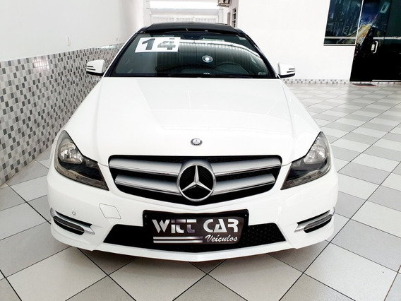 Mercedes Benz C 180 Coupe 1.6 Cgi Turbo 2014 Branco