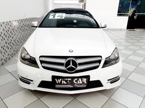 Mercedes Benz C 180 Coupe 1.6 Cgi Turbo 2014 Branco