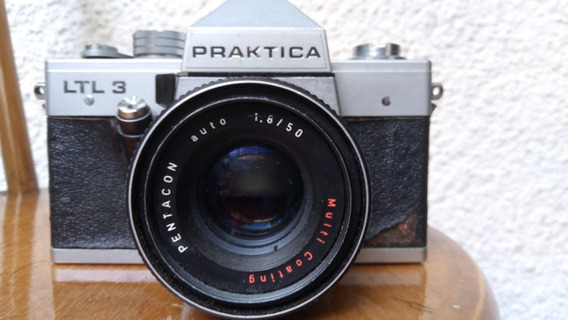 Máquina Fotográfica Praktica Ltl - Raro, Frete - C/c