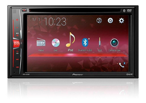 Dvd Automotivo Pioneer Avh-a218bt Tela 6.2 Bluetooth, Usb